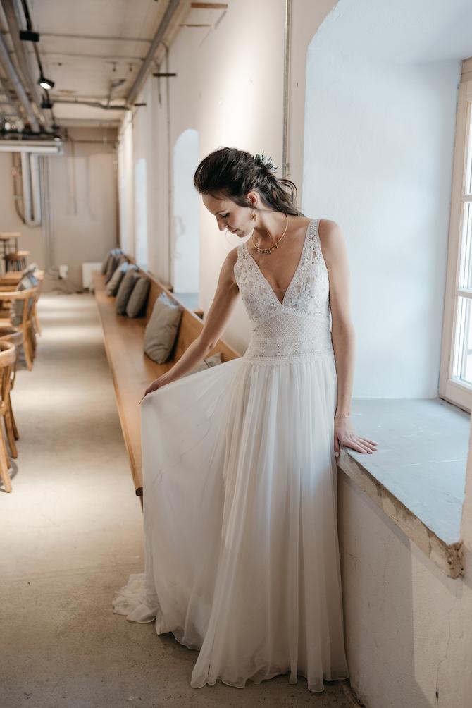 Hochzeitsfotografie - Jutta Sixt Fotografie - Tegernsee - Brautstrauss - Braut - Industrial Wedding -Tegernsee - Mangfallblau - Hochzeit am See - Boho - Bohowedding